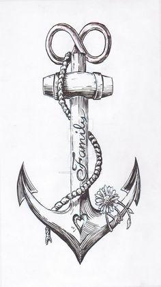 Anchor Tattoo Design by JoshThompsonART.d … auf … – … Spencer – diy tattoo image Anchor tattoo design by JoshThompsonART. Tattoo Drawings, Body Art Tattoos, New Tattoos, Small Tattoos, Sleeve Tattoos, Tatoos, Arrow Tattoos, Print Tattoos, Phoenix Tattoos