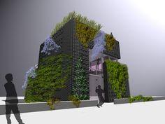 modern outdoors wall ideas garden house design ideas