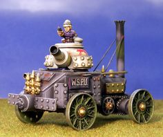Kevin Dallimore's 28mm Victorian Steamcar