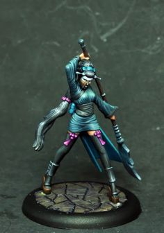Serpentarium: Malifaux: Oiran and Yamaziko