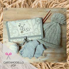 BUSTA PORTA FERRI per lavori a maglia e uncinetto Burlap, Reusable Tote Bags, Hessian Fabric, Jute, Canvas