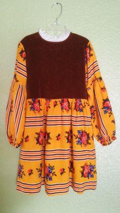 Vintage Girls dress size 10 by CalperniaAddams on Etsy