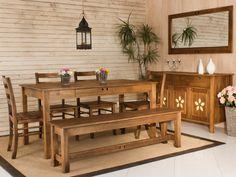 Mesa de Jantar Flor do Campo - Pinhão