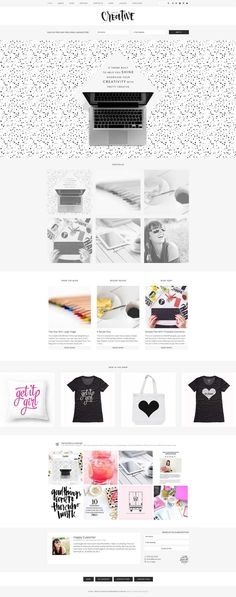 Pretty Creative WordPress eCommerce Theme - www.wpchats.com