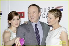 Kate Mara: House Of Cards Screening with Kevin Spacey!