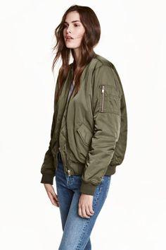 Bomber jacket at H&M $39