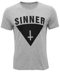Cozy Sinner Print Cotton T-Shirt