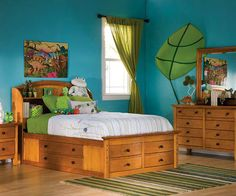 An excellent example of a beautiful Feng Shui Earth room...A great way to help teach kids to respect our Mother Earth...thumbs up Happy Pinning