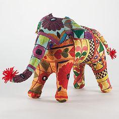 Rabari embroidered elephant
