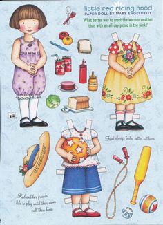 Mary Engelbreit Paper Doll Little Red Riding Hood Vol 12 No 4 Jun Jul 2008 | eBay