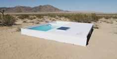 You Can Swim In a Secret Pool in the Mojave Desert, If You Can Find It » How cool, have you found this secret pool??