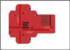 Plano 2 verlangen: hierbij heb ik enkel de kleine balkjes een rodere kleur gegeven omdat ze iets te hard afleidden van het geheel.