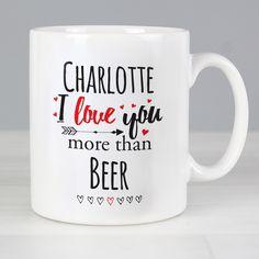 Personalised I Love You More Than... Mug