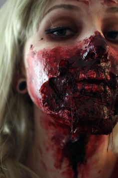 THIS LOOK WAS CREATED USING SPECIAL EFFECTS MAKE-UP SFX prosthetics and accessories