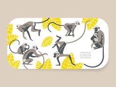 Monkeys illustration