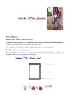 tutodesptitesgambettesbylaetiPDF .pdf - Fichier PDF Point Mousse, Baby Knitting, Moca, Bandeau, Diy, Crochet, Tricot Facile, Sewing, Wool