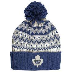 Women's Toronto Maple Leafs CCM Royal Blue Cuffed Current Knit Hat