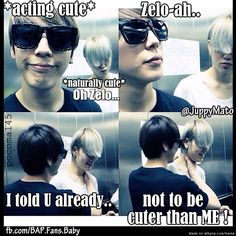 Miss them.. Himchan and Zelo B.A.P