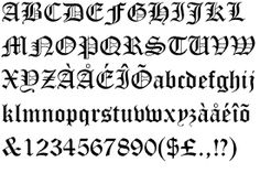 Image result for english letters stencils