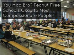 You Mad Bro? Peanut Free Schools Okay to Most Compassionate People | SCRATCH OR SNIFF