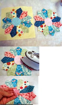 Dresden Plate Block Tutorial
