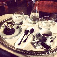 World's Oldest Cafe, Caffè Florian. #Travel #Venice #Food