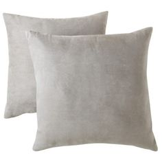 Room Essentials® Suede Pillow 2-Pack  Want two packs: Red and Yellow, they would tie in the butterfly pillow