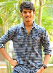 Director Puri Jagan's son Akash is trying to become hero soon in Tollywood. Already he has acted in couple of his dad's movies in small characters and in Andhra Pori movie