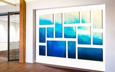 Ethereal Ocean | Ocean Inspired Wall Art | Corporate Sculptures | rosemary pierce modern art | www.artbyrosemary.com