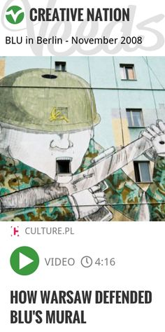 How Warsaw Defended Blu's Mural | #streetart #murals…