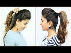 Amy Hairstyle NEW High Puff Ponytail Hairstyles – 4 Easy Ponytails for School, College, Work Ponytail Hairstyles Tutorial, High Ponytail Hairstyles, Heatless Hairstyles, Long Face Hairstyles, Daily Hairstyles, Ballet Hairstyles, Ponytail Tutorial, Hairstyles 2018, Quick Hairstyles