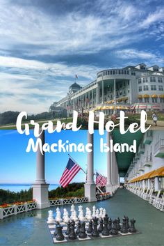 The Grand Hotel is the ultimate luxury experience on Mackinac Island.