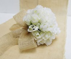 Roses Wedding Bouquet Bridesmaid Bouquets White Silk Roses