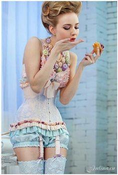 vintage style lingerie
