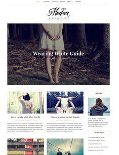 Free Blog Theme Medea