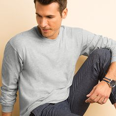 Gildan® DryBlend® Adult 50/50 Long Sleeve T-Shirt