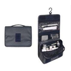 Travel Toiletry Bag High Capacity Make up Organizer Bag High Quality Women  Men Cosmetic Bag Fashion Design Toilet Organizer Bag-in Cosmetic Bags    Cases ... 1778c3fffb53