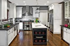 kitchen - contemporary - kitchen - chicago - Marcel Page Photography