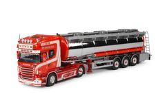 TVT - Tekno schaalmodellen vrachtwagens