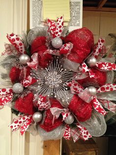 Deco Christmas Wreath