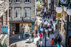 If you are looking for a stereotypical experience of Quebec City, you need to take time to wander around 'Vieux Quebec' or Old Quebec City! Old Quebec, Quebec City, Visitar Canada, Travel Abroad, Oh The Places You'll Go, East Coast, Vermont, Montreal, Wander