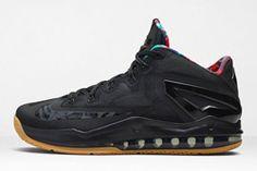 NIKE LEBRON 11 LOW (BLACK GUM) - Sneaker Freaker