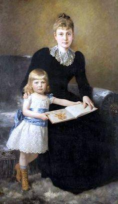 Theodor Dengler (1867 – 1903, German)