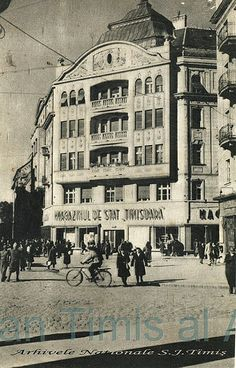 magazinul de stat Timisoara 1949 Romania, All About Time, History, Touch, Journal, Historia, Journal Entries
