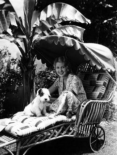 Genevieve Tobin at the Santa Barbara Hotel in Santa Barbara California, Tobin was an American actress and daughter of a vaudeville performer. She made her film debut in 1910 in 'Uncle Tom's Cabin' as Eva. Sealyham Terrier, Old Photos, Vintage Photos, Antique Photos, Santa Barbara Hotels, Uncle Toms Cabin, The Kennel Club, Old Movie Stars, Vintage Dog