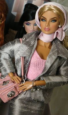Barbie is Gorgeous And Those Eyes! Black Barbie, Barbie I, Barbie World, Barbie And Ken, Barbie Clothes, Beautiful Barbie Dolls, Pretty Dolls, Beanie Babies, Fashion Royalty Dolls