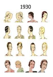 1930's hair - Google Search