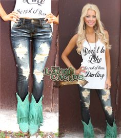 Ashlii Distressed Skinny Jeans  http://www.thelacecactus.com/ashlii-distressed-skinny-jeans/  Enter code ASHLEYH10 at checkout for 10% off.