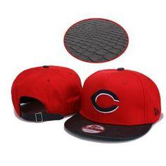 219da2cc4dd New Era Cincinnati Reds Strapback Hats - Red