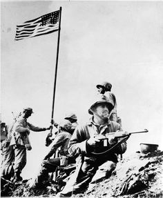 #OnThisDay, 1945, this arose atop Mount Suribachi on Iwo Jima...